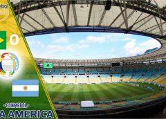 Argentina 1 x 0 Brasil, placar que deu título de campeã da America à Argentina.