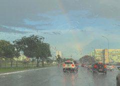 Volta a chover em Brasília, após registro do dia mais quente de setembro em 60 anos